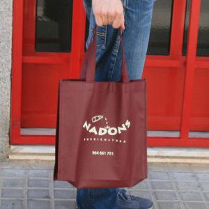 impresión bolsas de tela asa lazo