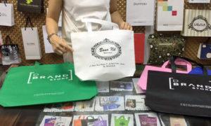 bolsas de tela con logo blancas