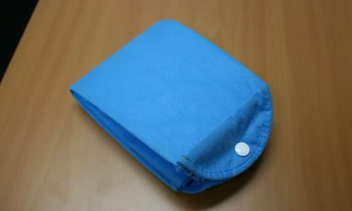 bolsas de tela con logo plegables
