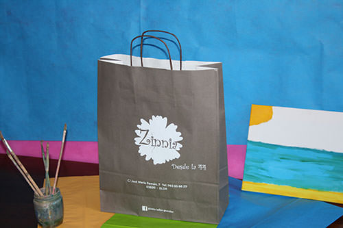 como hacer bolsas de papel personalizadas