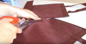 bolsas de tela manualidades recortar