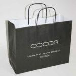 Bolsas de papel asa rizada comprar en Madrid