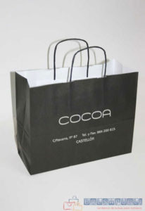 bolsas de papel asa rizada personalizadas en madrid