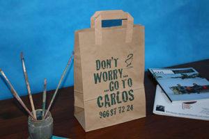 bolsas de papel en barcelona personalizadas