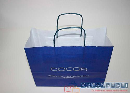bolsas de papel en valencia impresas