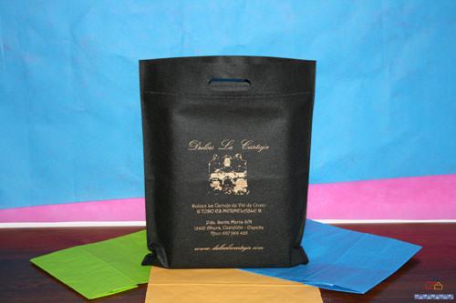 bolsas de tela impresas en madrid negras