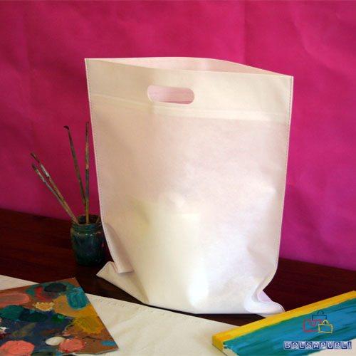 bolsas de tela impresas en valencia asa troquelada