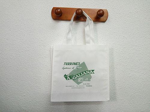 bolsas de tela personalizadas urgentes blancas