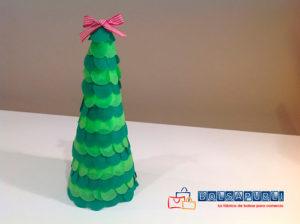 manualidades para navidad arbolito