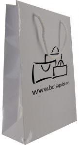 Bolsa Personalizada Blanca