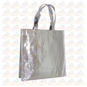 Bolsa Tela TST Plastificada Plata