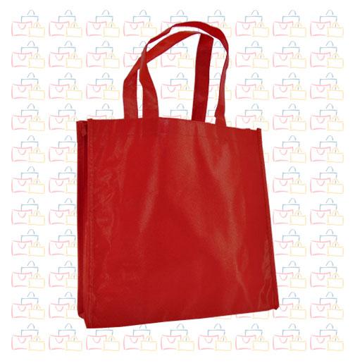 Bolsa Tela TST Plastificada Roja