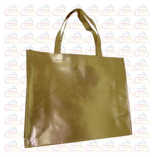 Bolsa Tela TST Plastificada Oro