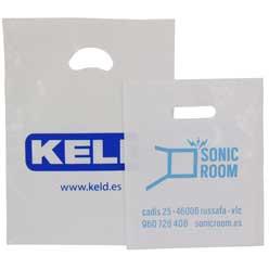 set bolsas plástico + asa troquel