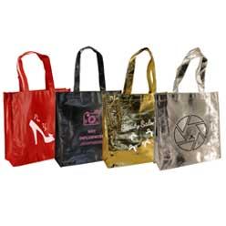 set bolsas plastificadas + tst lazo negra oro rojo plata