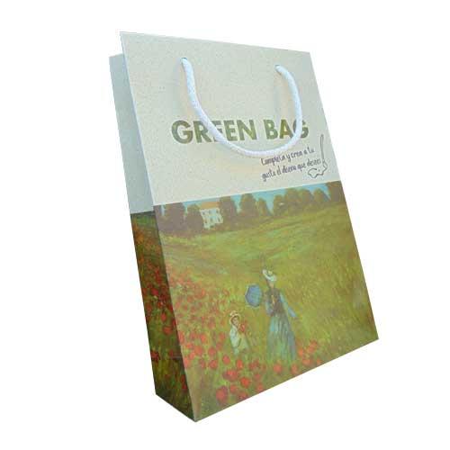 bolsa ecologica + greenbag con impresión model 1