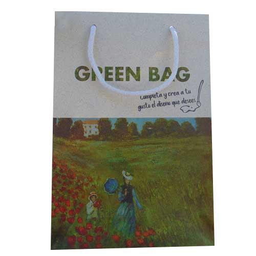 bolsa ecologica + greenbag con impresión model 2