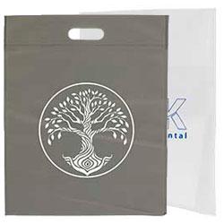 bolsas de tst asa troquel 40x50cm blanca gris