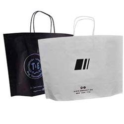 papel newbag 46x15x31 5cm blanca negra